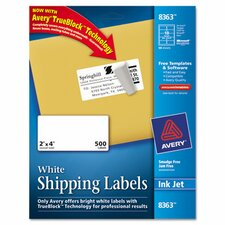 Shipping Labels with Trueblock Technology, 500/Box