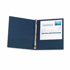 "<strong>Avery Consumer Products</strong> Economy Round Ring Reference Binder, 1"" Capacity"