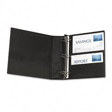 "Durable Slant Ring Reference Binder with Label Holder, 2"" Capacity"
