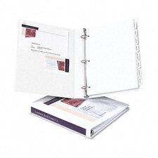 "<strong>Avery Consumer Products</strong> Durable Slant Easy Insert Ring View Binders, 1-1/2"" Capacity"