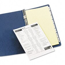 Worksaver Insertable Tab Index Dividers (8 Tabs, 8 Sets/ Box)