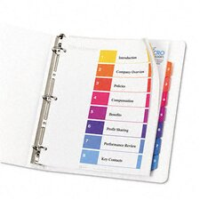 Extra-Wide Ready Index Dividers (8 Tabs)