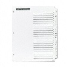 Office Essentials Office Essentials Table 'N Tabs Dividers, 26-Tab, A-Z, Letter, 1 Set
