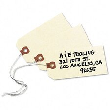 Paper/Double Wire Shipping Tags, 4 1/4 X 2 1/8 (1,000/Box)