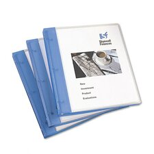 "Flexible Round Ring Presentation Binder, 1/2"" Capacity"