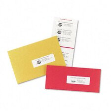 Laser/Inkjet Mailing Labels on Mini-Sheet (150/Pack)