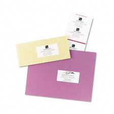 Laser/Inkjet Mailing Labels on Mini-Sheet (100/Pack)