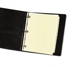 Copper Reinforced Laminated Tab Dividers (25 Tabs, 25/Set)