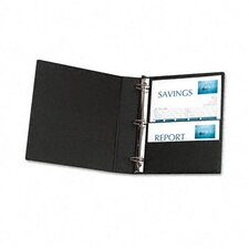 "Durable Ez-Turn Ring Binder with Label Holder, 1.5"" Capacity"