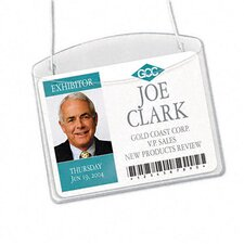 Photo Id Horizontal Badge Holder, 100/Box