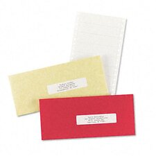 <strong>Avery Consumer Products</strong> Dot Matrix Printer 1 Across Address Labels, 5000/Box