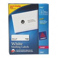 5162 Easy Peel Laser Address Labels, 1400/Box