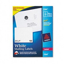 5164 Shipping Labels with Trueblock Technology, 600/Box