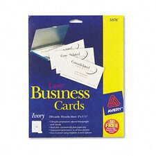 5376 Laser Business Cards, 250/Pack