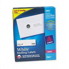 Easy Peel Laser Address Labels, 3500/Box