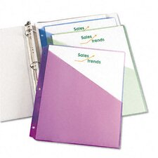 <strong>Avery Consumer Products</strong> Ring Binder Polypropylene Pockets, 5 Pockets/Pack