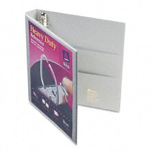 Nonstick Heavy-Duty EZD Reference View Binder, 1in Capacity