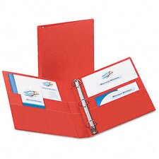 "Heavy-Duty Vinyl Ezd Ring Reference Binder, 1"" Capacity"