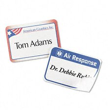 <strong>Avery Consumer Products</strong> Flexible Self-Adhesive Laser/Inkjet Name Badge Labels (160/Pack)