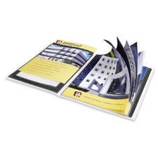 "Presentation Books, 24 Pages, 9-1/2""x11-1/2"", Black"