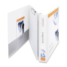 "Durable View Portfolio Binder with Clipboard, Letter Size, 1"" Capacity"