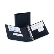 Durable Slant Ring Reference Binder, 3in Capacity, Black
