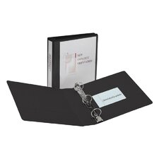 Showcase Reference View Binder, 1/2in Capacity, Black