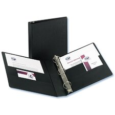 Durable EZ-Turn Ring Reference Binder, 8-1/2 x 11, 2in Capacity, Black