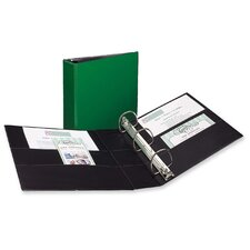 Durable EZ-Turn Ring Reference Binder, 8-1/2 x 11, 3in Capacity, Green