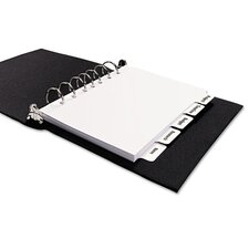 Index Maker Dividers, 5-Tab, Letter