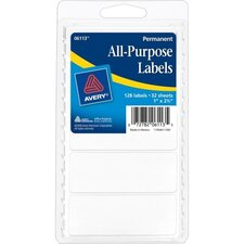 All purpose Label (Pack of 128)