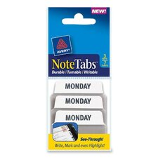 Preprinted Note Tab (Set of 3)
