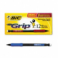 <strong>Bic Corporation</strong> 0.7 Mm Hb #2 Matic Grip Mechanical Pencil (Dozen)