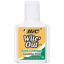 Bic Wite Out Correction Fluid Extra