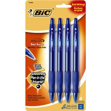 4 Count Velocity Bold Ball Pen in Blue