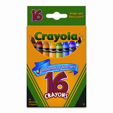 Classic Color Pack Crayons (16/Box)