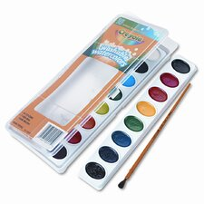 Washable Watercolor Paint (16/Set)