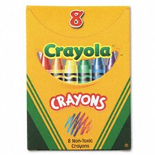Classic Color Pack Crayons (Tuck Box, 8 Colors/Box)