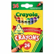 Classic Color Pack Crayons (24/Box)