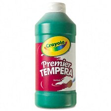 Premier Tempera Paint, Green, 16 Ounces