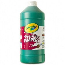 Premier Tempera Paint, Green, 32 Ounces