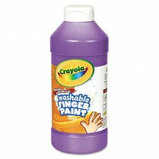 Washable Fingerpaint, 16 Oz