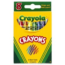 <strong>Crayola LLC</strong> Crayola Crayons 8 Color Peggable