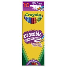 Erasable Colored Pencils 10 Color