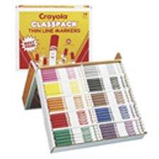 Crayola Classpk Markers 200 Ct