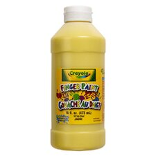 Washable Finger Paint 16oz Green