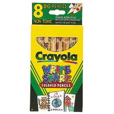 Crayola Write Start 8 Ct Colored