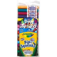 Pip-squeaks Markers 16 Ct Short