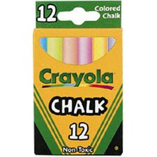 Crayola Colored Low Dust Chalk