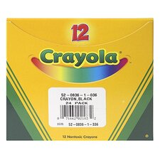 Crayola Bulk Crayon Regular - Black